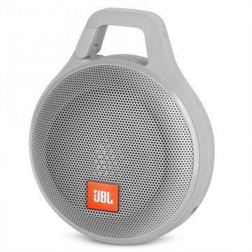 JBL Clip Plus Portable Bluetooth Speaker – Gray